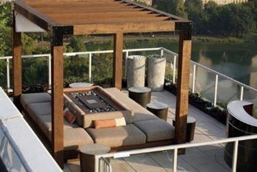 Arredamenti esterni per terrazzi