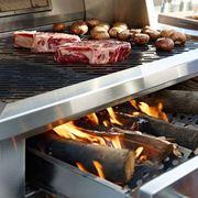 Barbecue a legna moderno