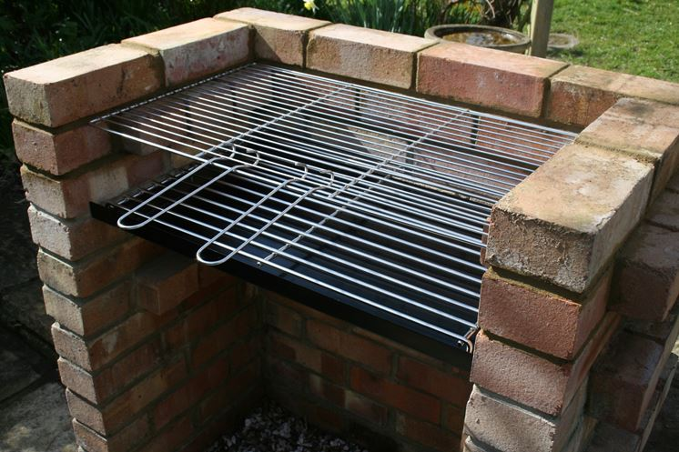 costruzione barbecue