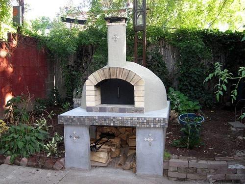 Forni da giardino barbecue - Forno con funzione pizza ...