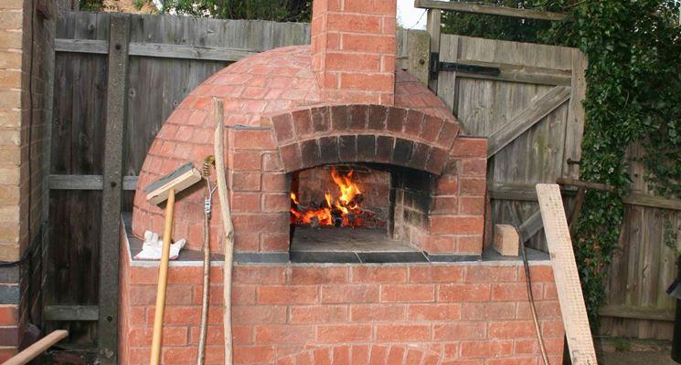 Forno a legna da giardino barbecue forno a legna per il giardino - Forno a legna per esterno ...