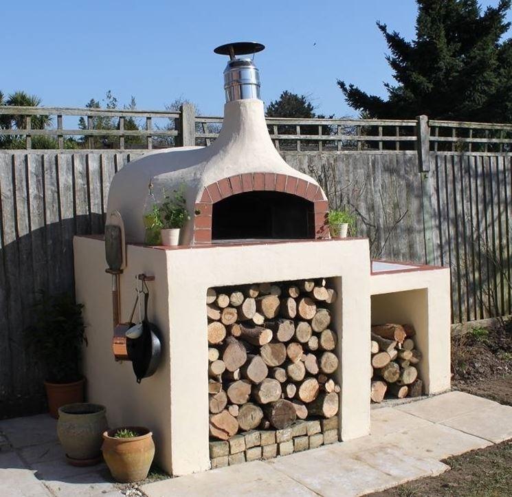 Forno a legna da giardino barbecue forno a legna per for Forno a legna usato da giardino