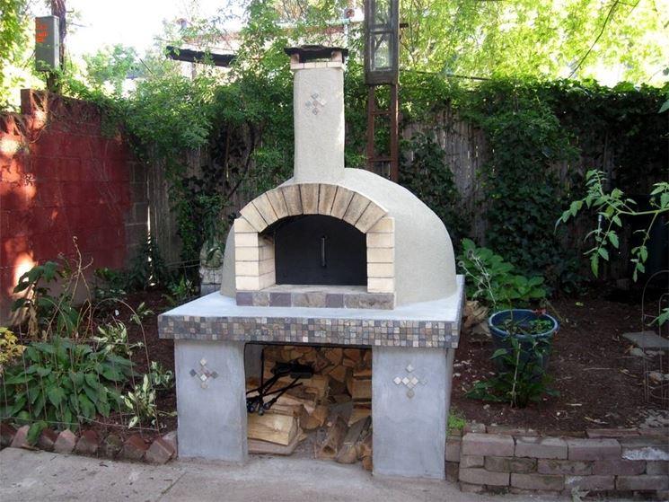 Forno a legna da giardino barbecue forno a legna per - Forno per giardino ...