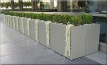 Fioriere in cemento fioriere e vasi - Vasi per esterno in cemento ...