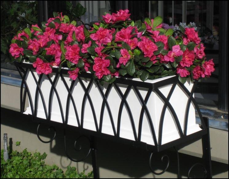 Fioriere in ferro battuto fioriere e vasi vantaggi for Fioriere in ferro