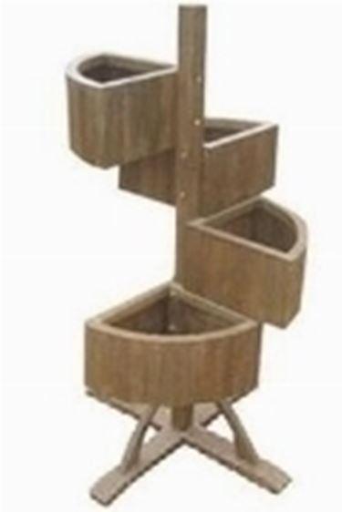 Fioriere in legno fioriere e vasi - Fioriere in legno per giardino ...