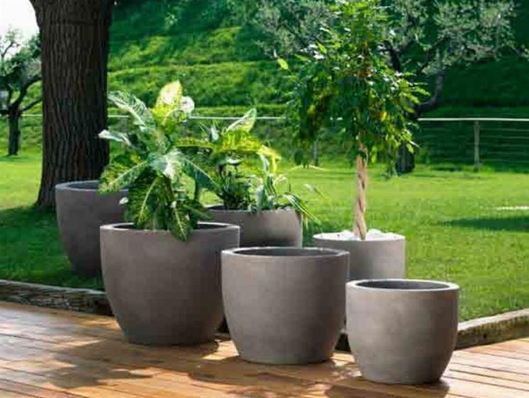 Vasi in resina fioriere e vasi for Vasi arredo