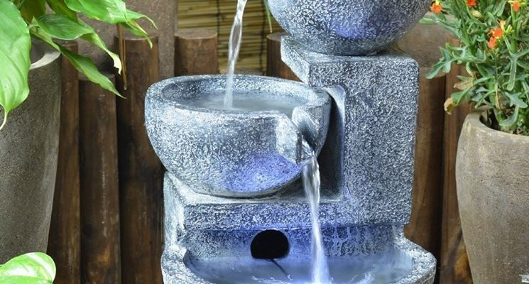Fontane da giardino fontane fontane per arredare il - Fontane a parete da giardino ...