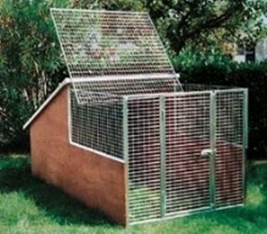 Recinzione cani recinzioni - Giardino per cani ...