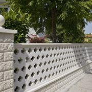 recinzione in cemento