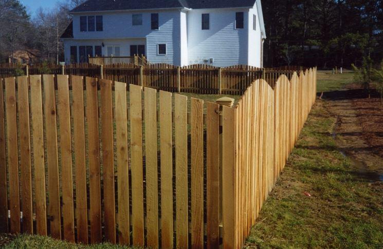 Recinzioni in legno - Recinzioni - Come recintare il giardino con il ...