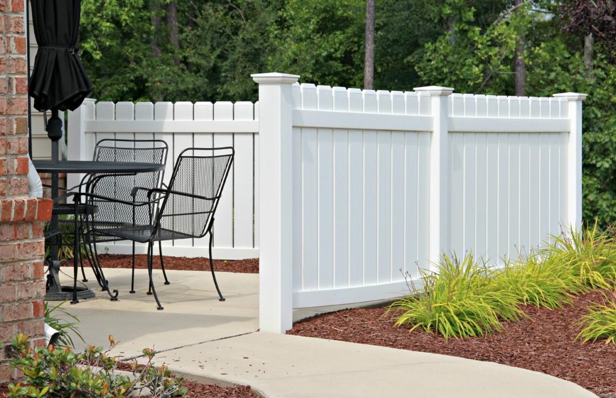 Recinzioni in pvc recinzioni for Arredo giardino in plastica