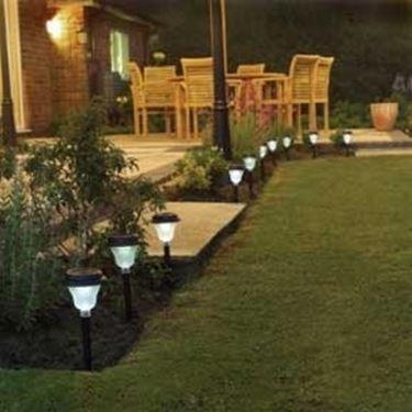 Impianto illuminazione giardino