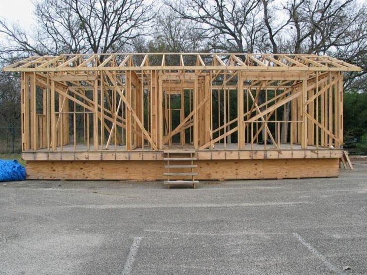 Casa in legno prefabbricata