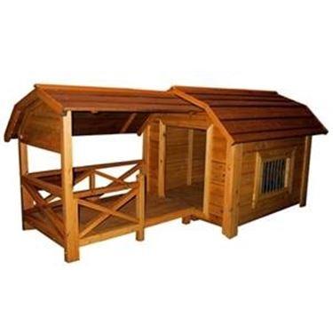 Cucce in legno casette da giardino - Giardino per cani ...