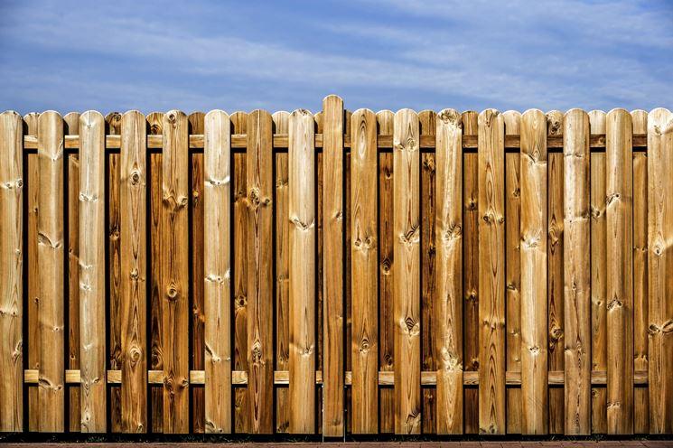 barriera in legno