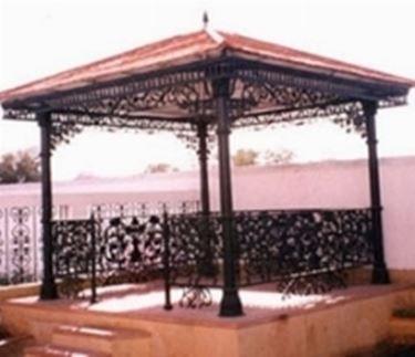 gazebo in ferro battuto - Gazebo