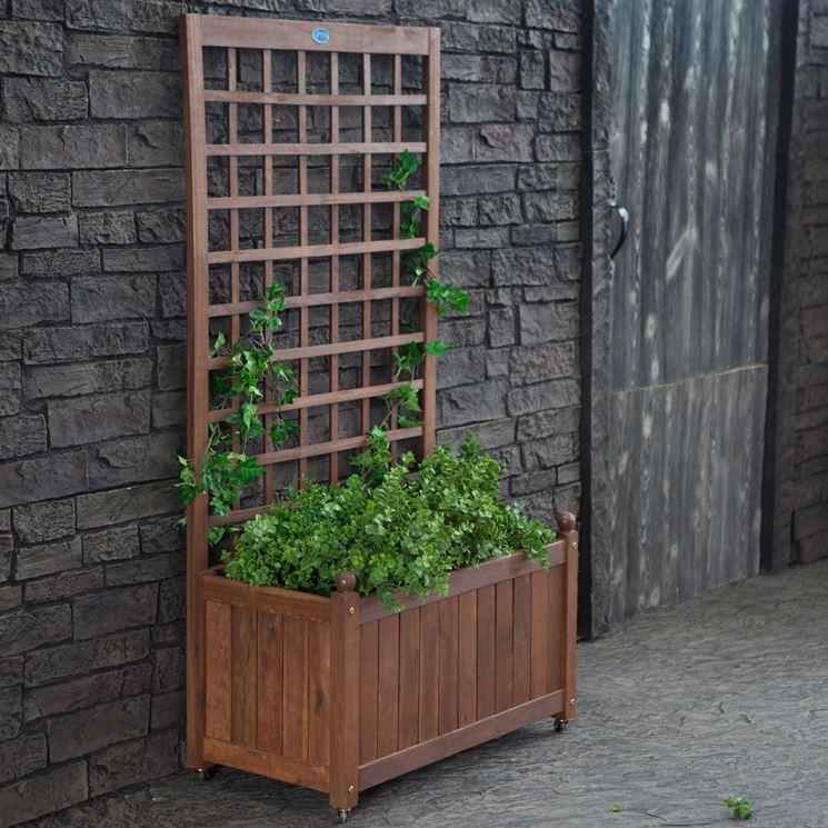 Grigliati in legno per balcone - Grigliati per giardino - Grigliati per balcone in legno