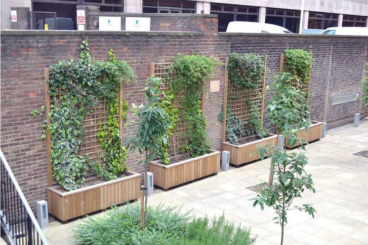 Grigliati in legno per terrazzo grigliati per giardino for Grigliati in legno ikea