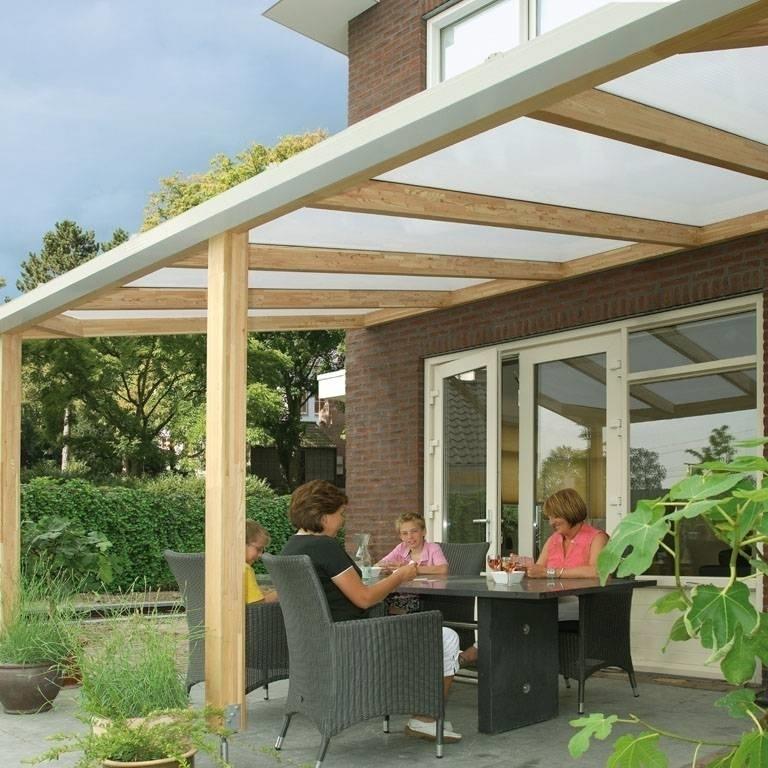 Tettoia per terrazzo tettoie da giardino - Tettoie in legno per esterno ...