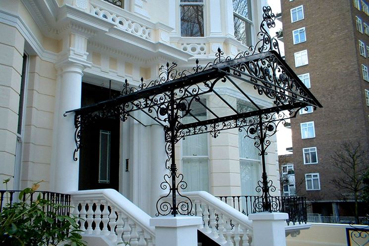 Tettoie in ferro battuto tettoie da giardino tettoie ferro battuto - Tettoie da giardino in ferro ...