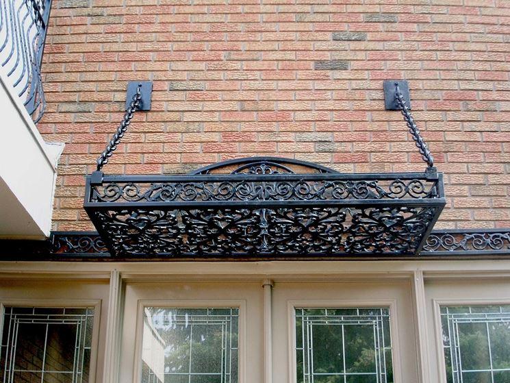 Tettoie in ferro battuto tettoie da giardino tettoie for Tettoie in ferro prezzi e offerte