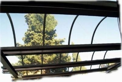 Tettoie in plexiglass tettoie da giardino for Tettoie in plexiglass brico