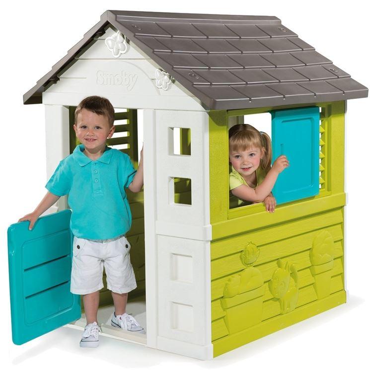 casa in plastica per bambini