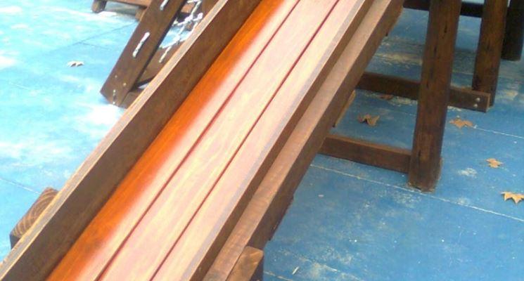 scivoli in legno