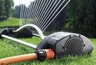 Un esempio di irrigatore oscillante.