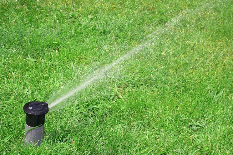 Un esempio d irrigatore a scomparsa.