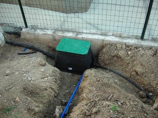 Pozzetti impianto irrigazione interrato for Costo impianto irrigazione interrato