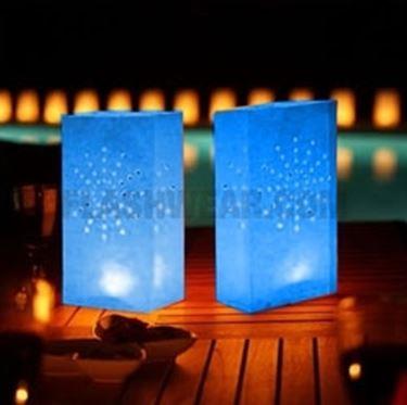 candele da giardino