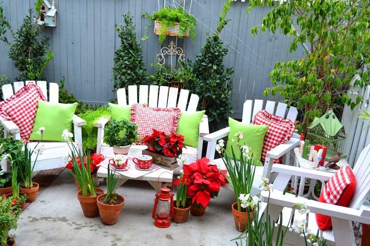 Cuscini da giardino - complementi arredo per esterni - Cuscini per il giardino