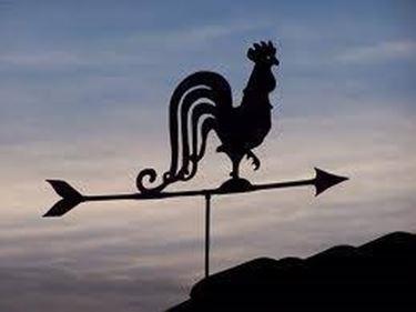 Un galletto per la direzione del vento