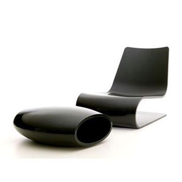 chaise longue da giardino ultra moderna