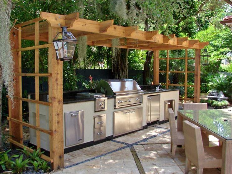 Cucina da giardino - mobili giardino - la cucina più adatta al tuo ...