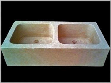 lavelli da giardino a due vasche