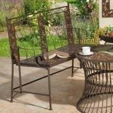 Tavoli da giardino prezzi modelli idee per il design - Tavoli in ferro battuto per esterni ...