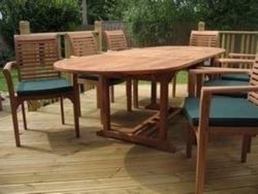 mobili da giardino in teak - mobili giardino