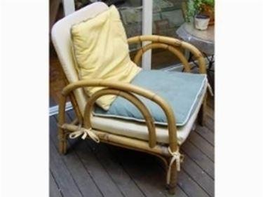 sedia in bambù