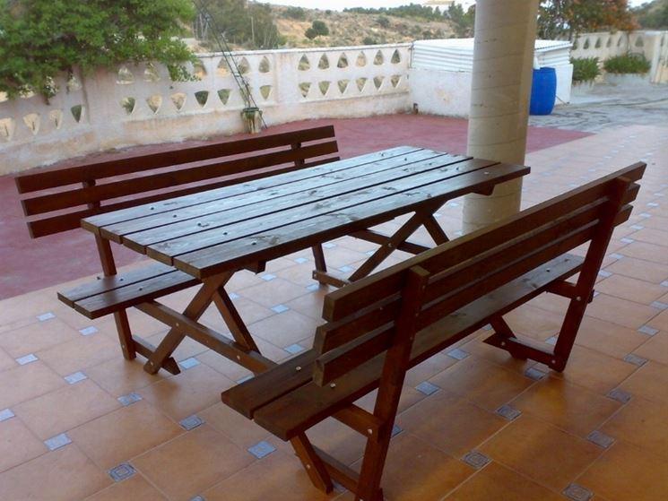 mobili da giardino usati - mobili giardino