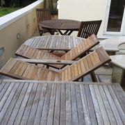 tavolo da giardino usato