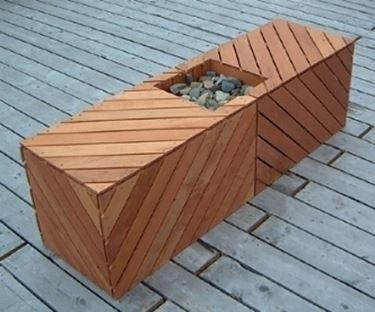 panca da giardino