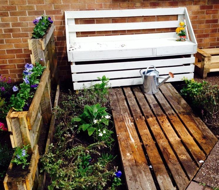 Panchine in legno   mobili giardino   panche in legno per il giardino