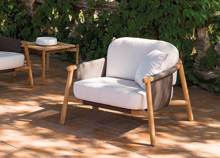 poltrone da giardino mobili giardino poltrone per