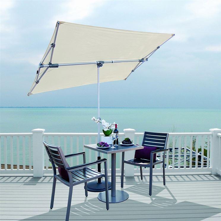 Ombrelloni terrazzo ombrelloni da giardino ombrelloni for Complementi da giardino