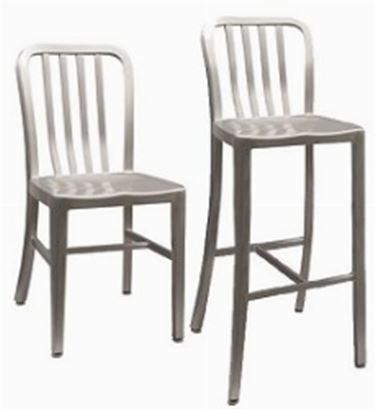 sedie in alluminio