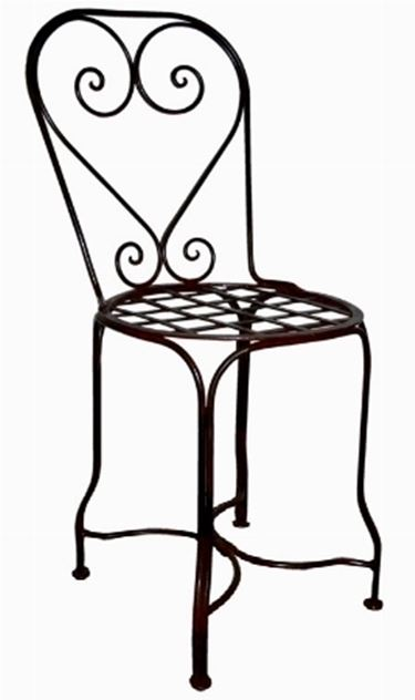 sedie in ferro battuto