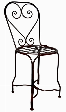 Sedie da giardino in ferro battuto sedie per giardino for Panchina ferro battuto amazon